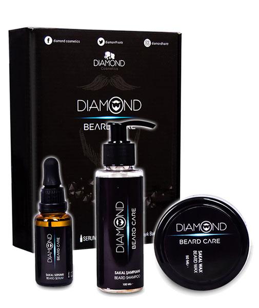 Diamond Hair Beard and Mustache Growth  Serum
