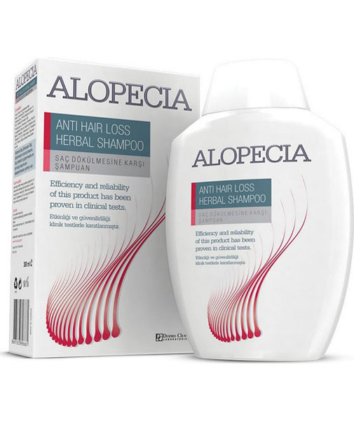 Alopecia Anti Hair Loss Herbal Shampoo 300 Ml
