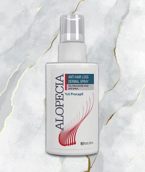 Alopecia Anti Hair Loss Dermal Spray 60 ml - Leather Spray